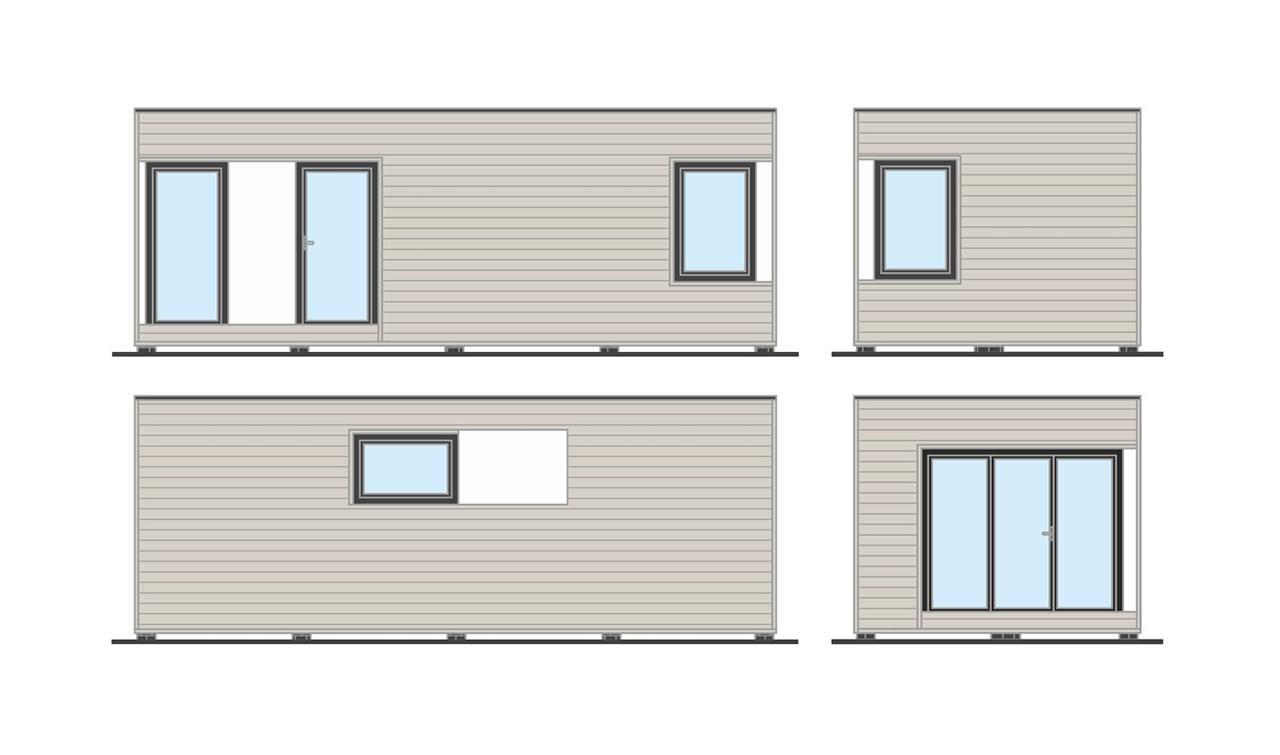 Domy holenderskie - Apartamentowiec