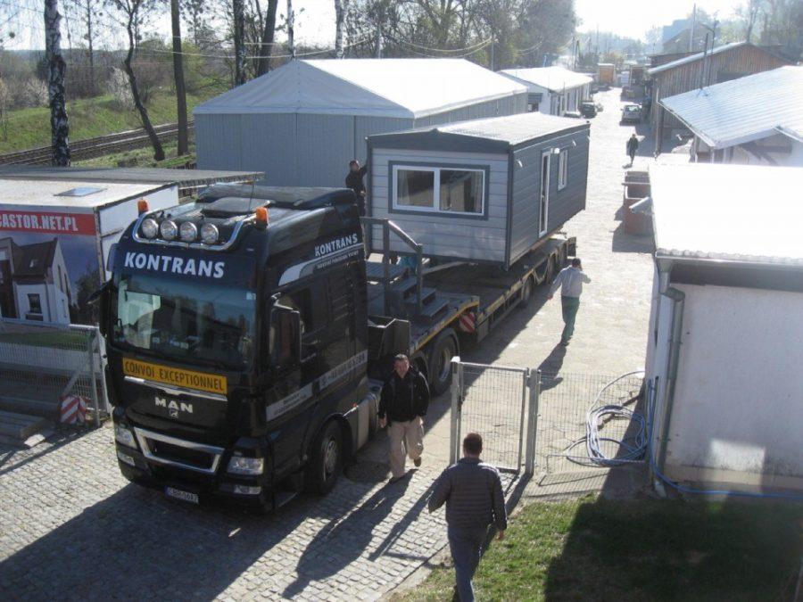 Domy holenderskie Europa Campers - Transport