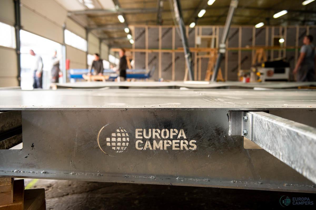 Domy holenderskie Europa Campers - Produkcja
